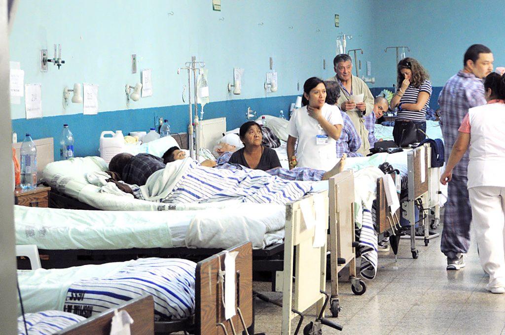 Salud solo cuenta con el 5% de camas para atender a pacientes con Covid-19