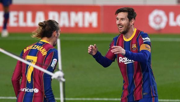 El FC Barcelona acabó con su depresión liguera ante el Real Betis (5-2) gracias a la aparición de Leo Messi, suplente por primera vez en más de diez meses, y al instinto de Ousmane Dembélé, cuya electricidad fue decisiva para encarrilar la victoria en la novena jornada de la Liga Santander y 'obligarse' a la reacción tras las dudas del comienzo.