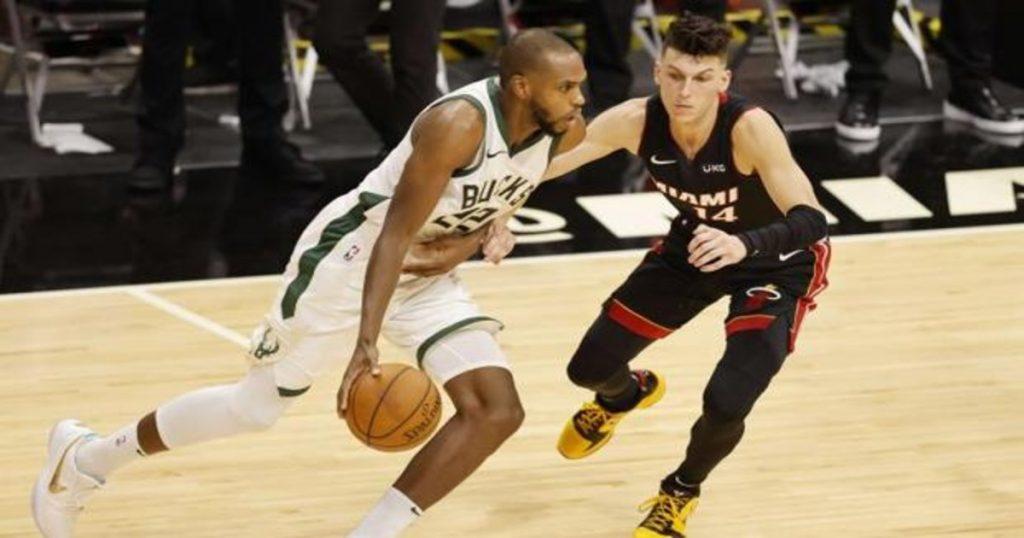 Los Bucks baten el récord histórico de triples en un partido NBA con 29 aciertos ante Miami